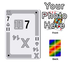 Rainbow Deck V2 0 Deck 3 By Changcai   Playing Cards 54 Designs   7ikwxtcg8y4s   Www Artscow Com Front - Club9