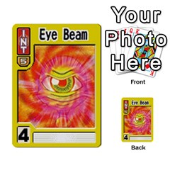 Monster Rancher Deck 1 By Joe Rowland Hotmail Co Uk   Multi Purpose Cards (rectangle)   Zui32aoroqob   Www Artscow Com Front 45