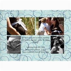 Baby Bo Invite By Samantha Meyer   5  X 7  Photo Cards   Uxti8dh9976m   Www Artscow Com 7 x5 Photo Card - 8