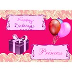 Birthday Card - Birthday Cake 3D Greeting Card (7x5)