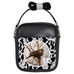 Bird picture purse - Girls Sling Bag