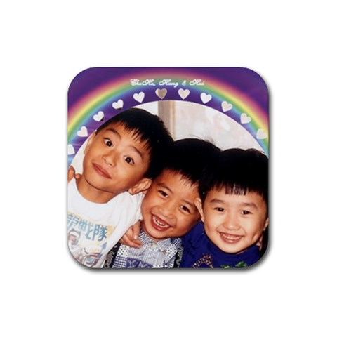 Coaster By Lee Suk Ling   Rubber Coaster (square)   G045yjxlzln4   Www Artscow Com Front