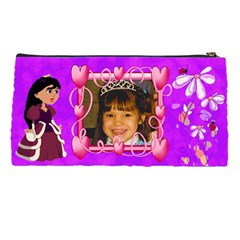 Princess Pencil Case By Kim Blair   Pencil Case   Rg2w1p4gll9z   Www Artscow Com Back