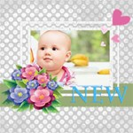 baby - ScrapBook Page 8  x 8