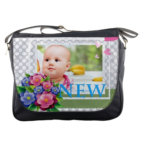 Baby By Joely   Messenger Bag   Szl0x43pxram   Www Artscow Com Front