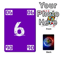 Numbers Deck   Purple(all) Orange(all) Red(8 0)   Textless Poker Deck By Mike   Playing Cards 54 Designs   Rdlhl25klzyq   Www Artscow Com Front - Heart3
