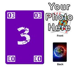 Numbers Deck   Purple(all) Orange(all) Red(8 0)   Textless Poker Deck By Mike   Playing Cards 54 Designs   Rdlhl25klzyq   Www Artscow Com Front - Heart6