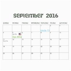 2013 By Amanda   Wall Calendar 11  X 8 5  (18 Months)   900dh71s3jqv   Www Artscow Com Sep 2016