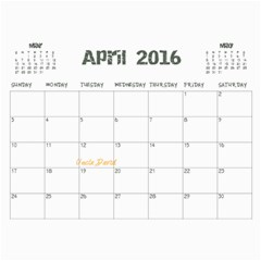 2013 By Amanda   Wall Calendar 11  X 8 5  (18 Months)   900dh71s3jqv   Www Artscow Com Apr 2016