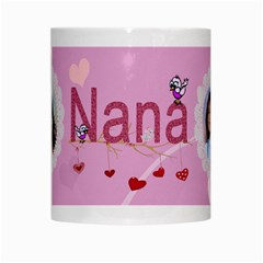 Nana White Mug By Kim Blair   White Mug   B5x66knv95dp   Www Artscow Com Center