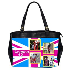Our London 12 Oversize Office Bag (2 Sided) By Deborah   Oversize Office Handbag (2 Sides)   Ttzdofr51e9g   Www Artscow Com Front
