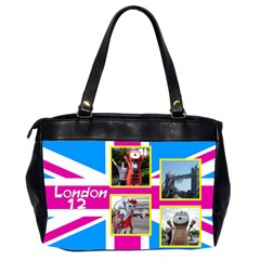 Our London 12 Oversize Office Bag (2 Sided) By Deborah   Oversize Office Handbag (2 Sides)   Ttzdofr51e9g   Www Artscow Com Back