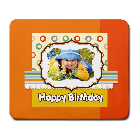 Happy Birthday By Divad Brown   Large Mousepad   Pwsitprrkqyv   Www Artscow Com Front