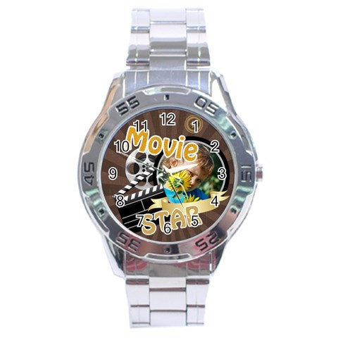 Kids By M Jan   Stainless Steel Analogue Watch   Ncafokgog5fq   Www Artscow Com Front
