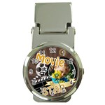 movie star - Money Clip Watch