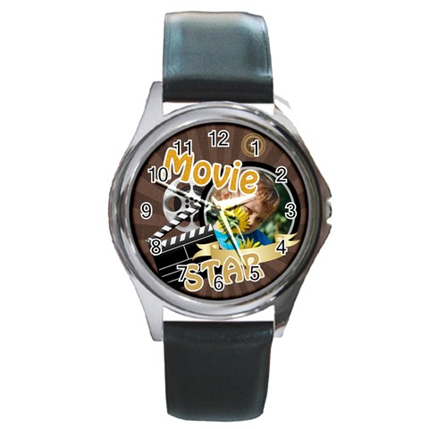 Kids By M Jan   Round Metal Watch   5z17jhsnz8jk   Www Artscow Com Front