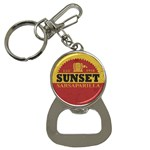 Sunset Sarsaparilla Bottle Opener Keychain - Bottle Opener Key Chain