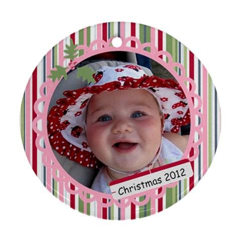Hadley By Hoyhoy14 Msn Com   Ornament (round)   9ghfzll7z2hi   Www Artscow Com Front