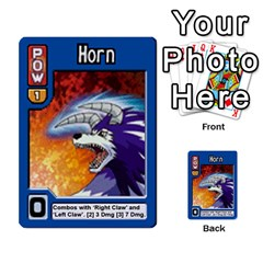 Monster Rancher 3 By Joe Rowland Hotmail Co Uk   Multi Purpose Cards (rectangle)   T3ubym29zdmi   Www Artscow Com Front 9