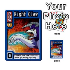 Monster Rancher 3 By Joe Rowland Hotmail Co Uk   Multi Purpose Cards (rectangle)   T3ubym29zdmi   Www Artscow Com Front 11