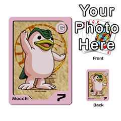 Monster Rancher 3 By Joe Rowland Hotmail Co Uk   Multi Purpose Cards (rectangle)   T3ubym29zdmi   Www Artscow Com Front 19