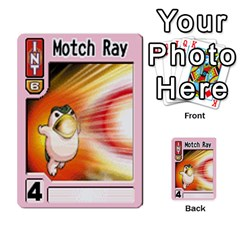 Monster Rancher 3 By Joe Rowland Hotmail Co Uk   Multi Purpose Cards (rectangle)   T3ubym29zdmi   Www Artscow Com Front 31