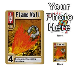 Monster Rancher 4 By Joe Rowland Hotmail Co Uk   Multi Purpose Cards (rectangle)   1yhtwb223sl7   Www Artscow Com Front 19