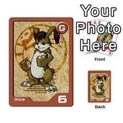 Monster Rancher 4 By Joe Rowland Hotmail Co Uk   Multi Purpose Cards (rectangle)   1yhtwb223sl7   Www Artscow Com Front 37