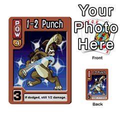 Monster Rancher 4 By Joe Rowland Hotmail Co Uk   Multi Purpose Cards (rectangle)   1yhtwb223sl7   Www Artscow Com Front 42