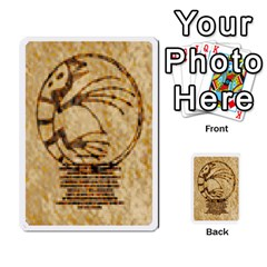Monster Rancher 5 By Joe Rowland Hotmail Co Uk   Multi Purpose Cards (rectangle)   S02n31tusmst   Www Artscow Com Front 51