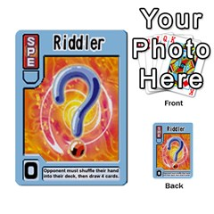 Monster Rancher 5 By Joe Rowland Hotmail Co Uk   Multi Purpose Cards (rectangle)   S02n31tusmst   Www Artscow Com Front 11