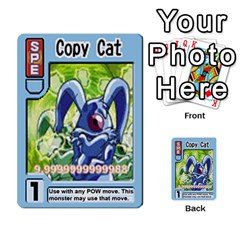 Monster Rancher 5 By Joe Rowland Hotmail Co Uk   Multi Purpose Cards (rectangle)   S02n31tusmst   Www Artscow Com Front 19