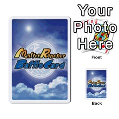 Monster Rancher 5 By Joe Rowland Hotmail Co Uk   Multi Purpose Cards (rectangle)   S02n31tusmst   Www Artscow Com Back 5