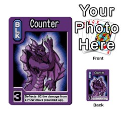 Monster Rancher 5 By Joe Rowland Hotmail Co Uk   Multi Purpose Cards (rectangle)   S02n31tusmst   Www Artscow Com Front 50