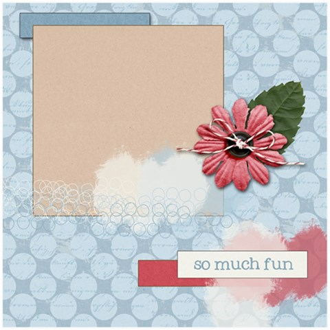 So Much Fun By Lauren   Scrapbook Page 8  X 8    P0y8tqf4omvb   Www Artscow Com 8 x8 Scrapbook Page - 1