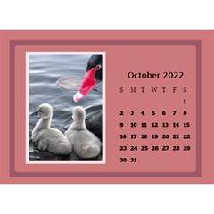 Shades Of Red Desktop Calendar (8 5x6) By Deborah   Desktop Calendar 8 5  X 6    5w5ovvh3kwzo   Www Artscow Com Oct 2017