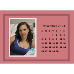 Shades Of Red Desktop Calendar (8 5x6) By Deborah   Desktop Calendar 8 5  X 6    5w5ovvh3kwzo   Www Artscow Com Nov 2017