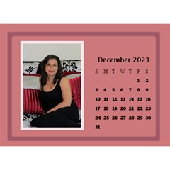 Shades Of Red Desktop Calendar (8 5x6) By Deborah   Desktop Calendar 8 5  X 6    5w5ovvh3kwzo   Www Artscow Com Dec 2017