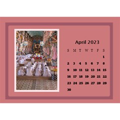Shades Of Red Desktop Calendar (8 5x6) By Deborah   Desktop Calendar 8 5  X 6    5w5ovvh3kwzo   Www Artscow Com Apr 2017