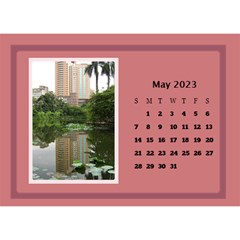 Shades Of Red Desktop Calendar (8 5x6) By Deborah   Desktop Calendar 8 5  X 6    5w5ovvh3kwzo   Www Artscow Com May 2017