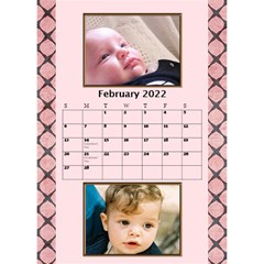 Tones Of Red Desktop Calendar By Deborah   Desktop Calendar 6  X 8 5    J6qjahdabu6b   Www Artscow Com Feb 2017