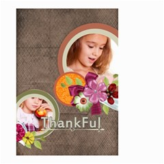 Thankful By Joely   Small Garden Flag (two Sides)   Fcix7vgp3kwo   Www Artscow Com Back