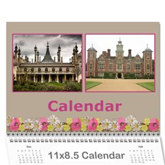 Pretty As A Picture Wall Calendar 11x8 5 By Deborah   Wall Calendar 11  X 8 5  (12 Months)   9edmkasyfwfa   Www Artscow Com Cover