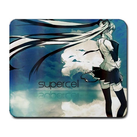 Hatsune Miku Mousepad Supercell By Sanneh   Large Mousepad   52cthep8awxg   Www Artscow Com Front