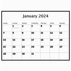 My Black And Gold  Wall Calendar 11x8 5 By Deborah   Wall Calendar 11  X 8 5  (12 Months)   2z4kb1bscg6y   Www Artscow Com Jan 2017