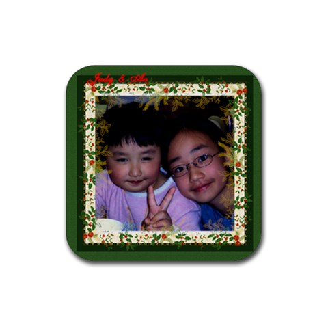 Judy3 Coaster By Lee Suk Ling   Rubber Coaster (square)   Ixl32gpa68su   Www Artscow Com Front