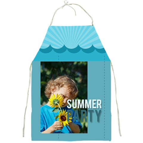 Summer By Jacob   Full Print Apron   Ki63mm0rt1mb   Www Artscow Com Front