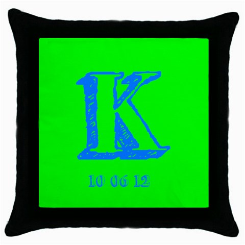 Katie8 By Sherri Goldstein   Throw Pillow Case (black)   2stiyuomfpx0   Www Artscow Com Front