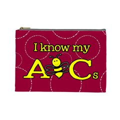 Milk Money Pouch By Patricia W   Cosmetic Bag (large)   Ndpra07aonnh   Www Artscow Com Front