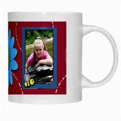 Red Friend Mug By Patricia W   White Mug   3c0tr8mhh7nw   Www Artscow Com Right